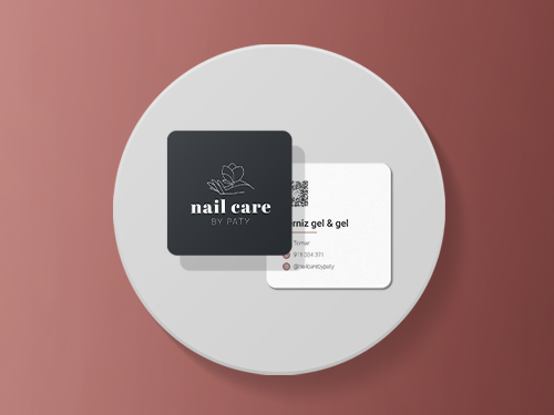 Nail Care design unhas logotipo cartão preçario next solution agencia de comunicação