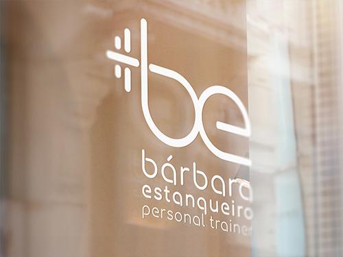 Barbara estanqueiro personal traines design logo identidade visial next solution Agencia de comunicação